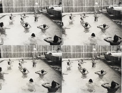 Andy Warhol, Pool Party, 1985