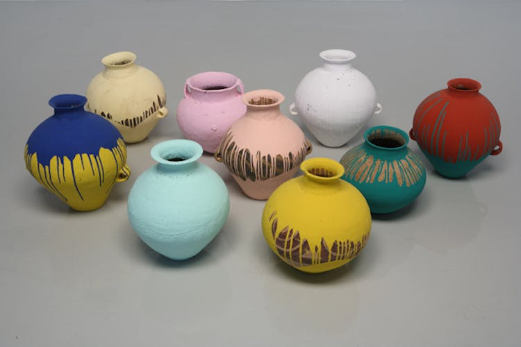 Colored Vases (2006). Ai Weiwei. Foto: dailyserving.com