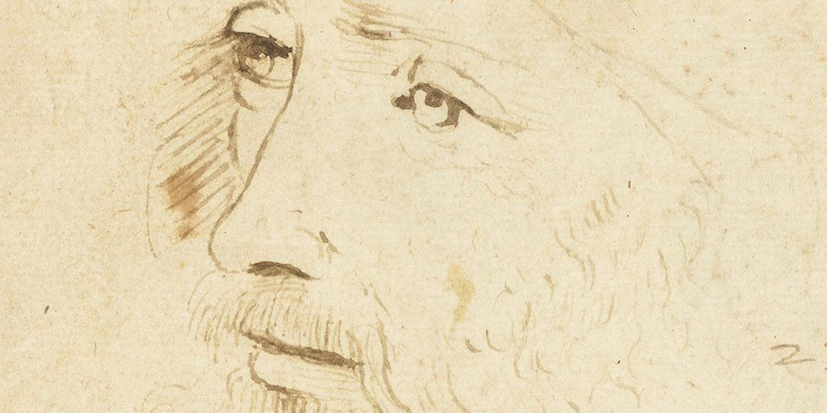 A Possible Rediscovered Portrait of da Vinci Goes to London