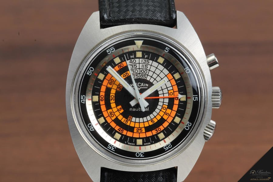Vulcain Nautical Cricket Vintage Uhr | Foto: Timeless Watches & Jewellery