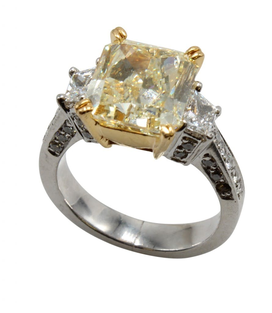 6.09-carat diamond ring