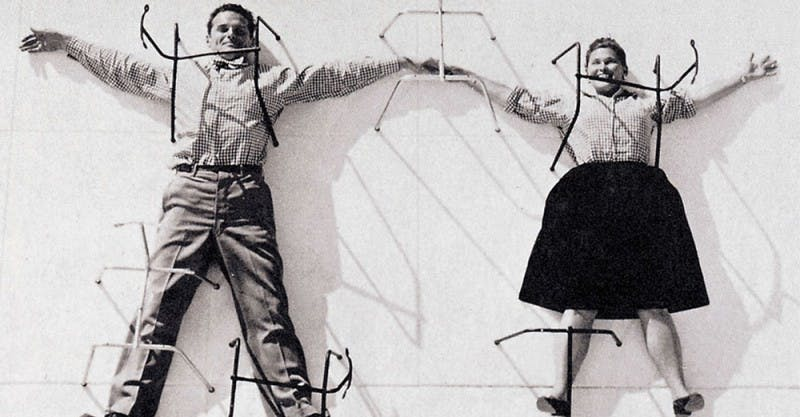 Charles und Ray Eames | Foto: enlacearquitectura.com