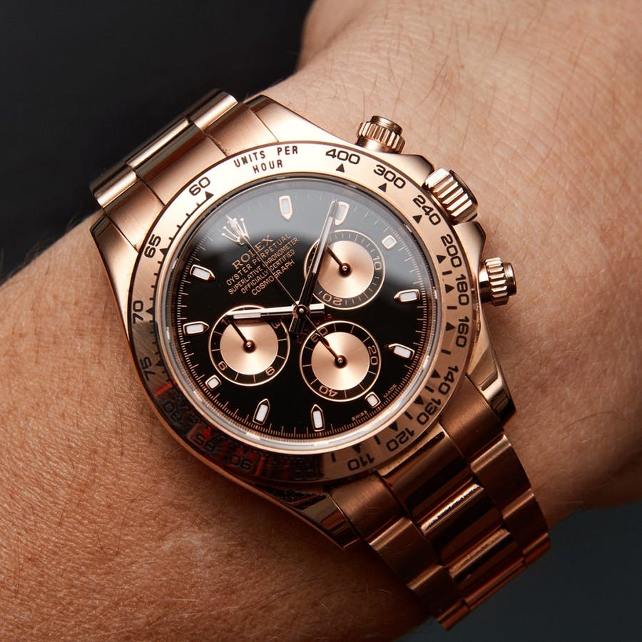 Todays Wristshot: Rolex Daytona, LOT5(photo:www.kaplans.se)