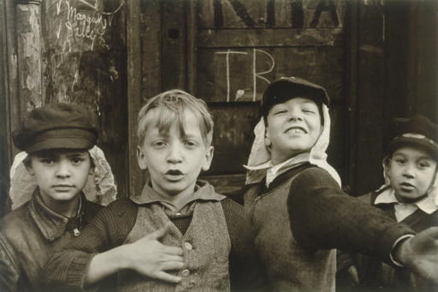Helen Levitt, 1930s, New York. Photo: Christie's