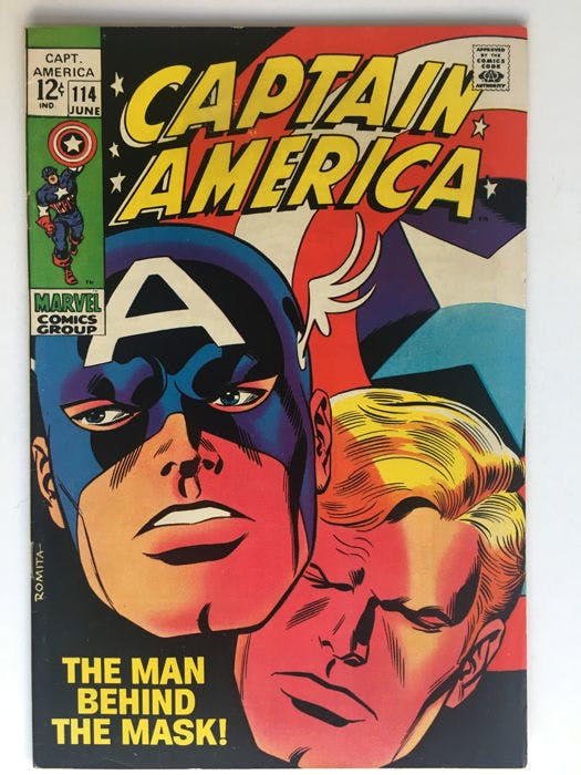 Marvel Comics - Captain America #114