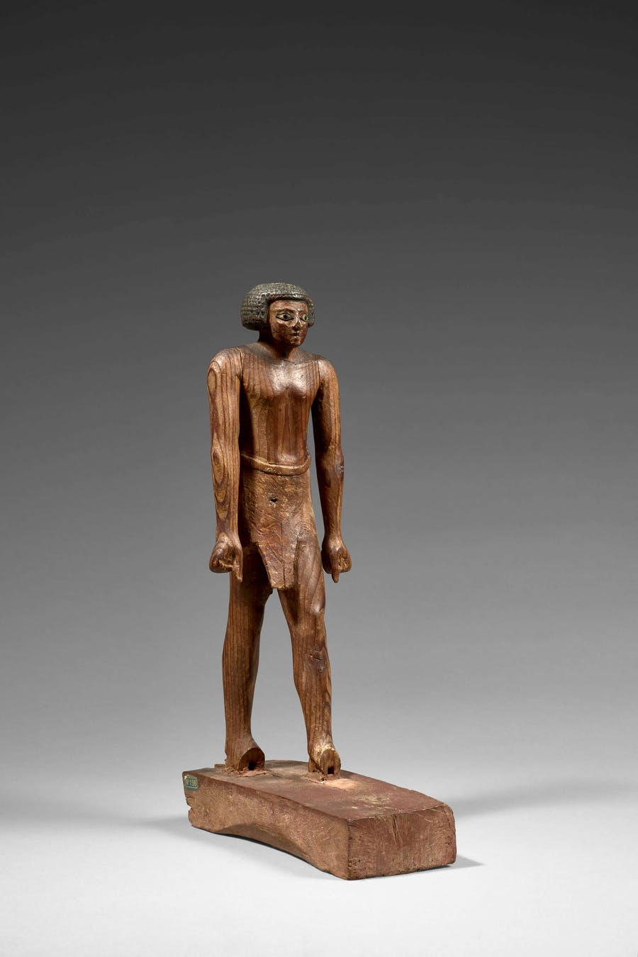Egypt, Meir Necropolis, Middle Kingdom, 11th-12th Dynasty, 'Dignitary Statuette in Wood'. Photo: Artcurial