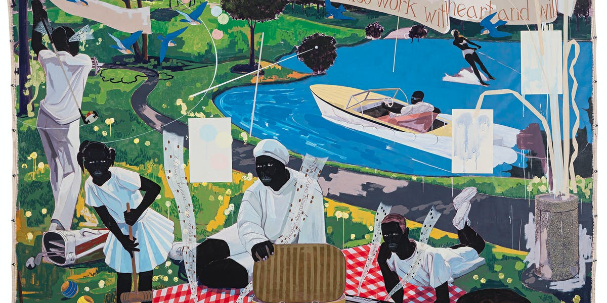 Kerry James Marshall, Past Times, 1997 | Abb.: ©Sotheby's