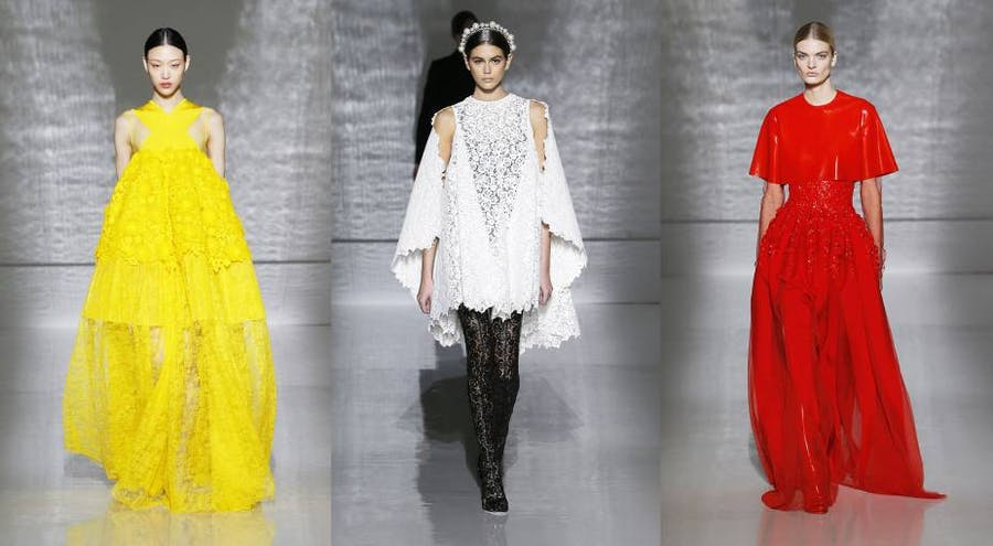 Givenchy Spring/Summer 2019 haute couture collection in Paris. Image: Givenchy