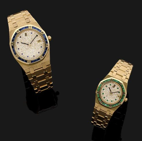 Lot 87 Audemars Piguet Royal Oak N°1 Estimation : 4 500/6 500 €