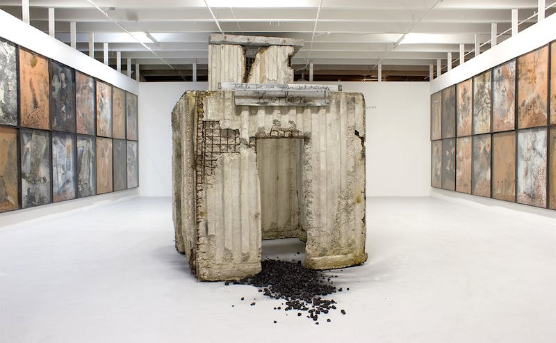 """""""Anselm Kiefer: Paintings, Sculpture, Installation"""" Image via the Margulies Collection."""