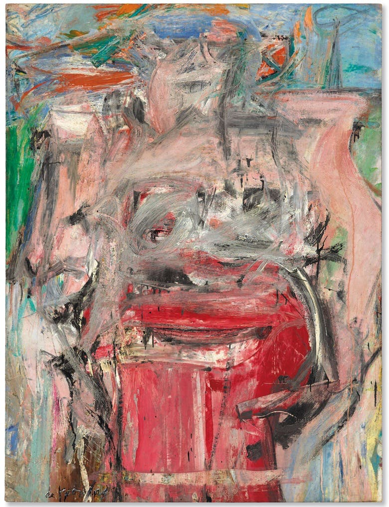 Willem de Kooning, Woman as Landscape (1954–55), image ©Christie's