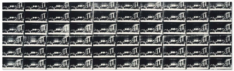 Andy Warhol, Sixty Last Suppers, 1986 Abb.: Christie's