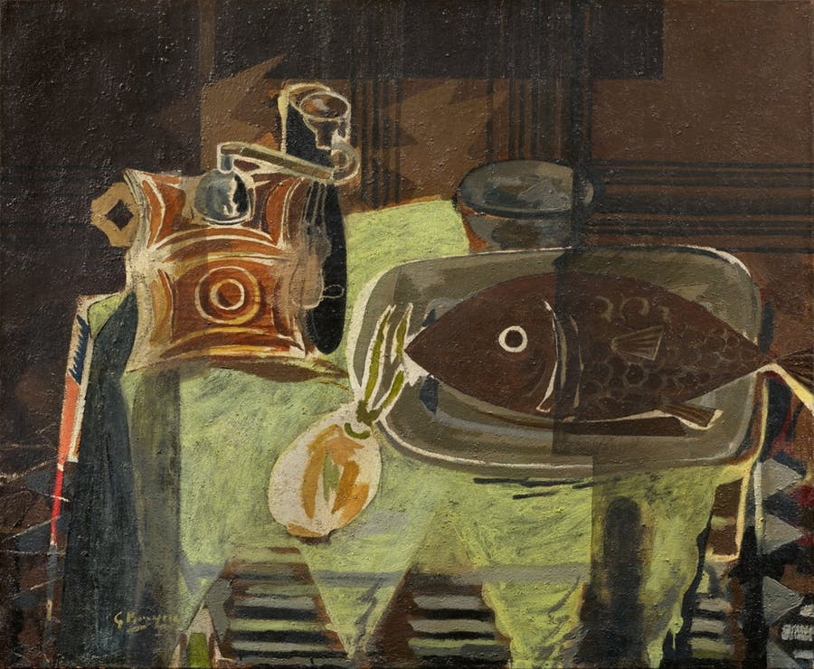 GEORGES BRAQUE - Le moulin à café, 1942
