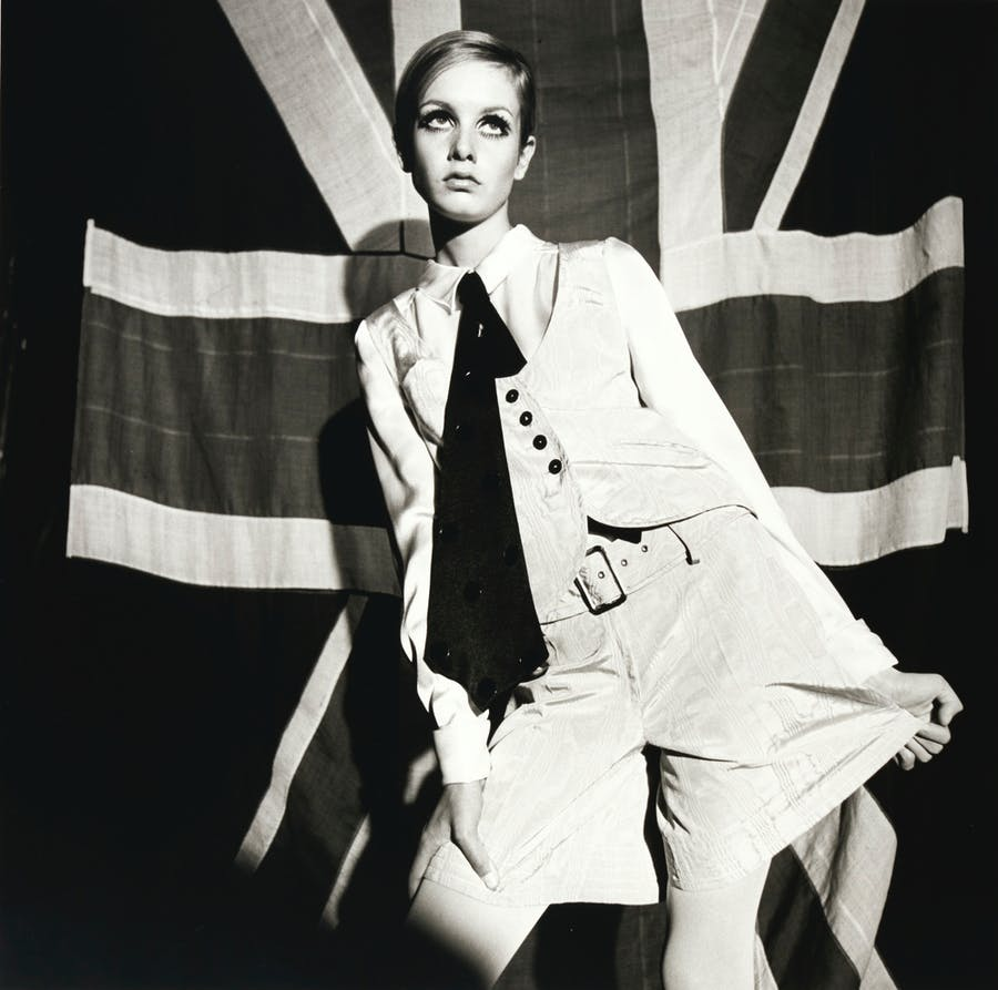 Terence Donovan, Twiggy, 1966 | Foto: Sotheby's