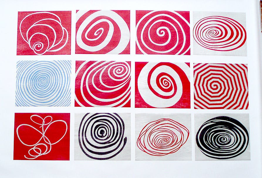 Louise Bourgeois Spirals, 2010.