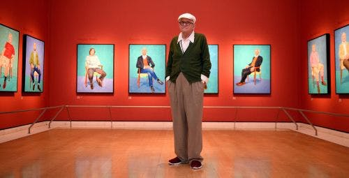 David Hockney: 82 Portraits and 1 Still Life – Royal Academy