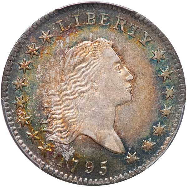 1795 US half dollar coin