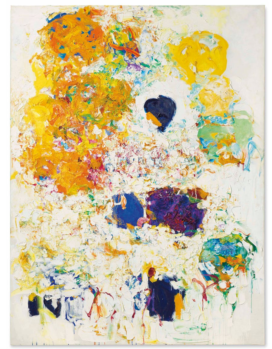 Joan Mitchell (1925-1992), Blueberry, 1969 | Foto: Christie's