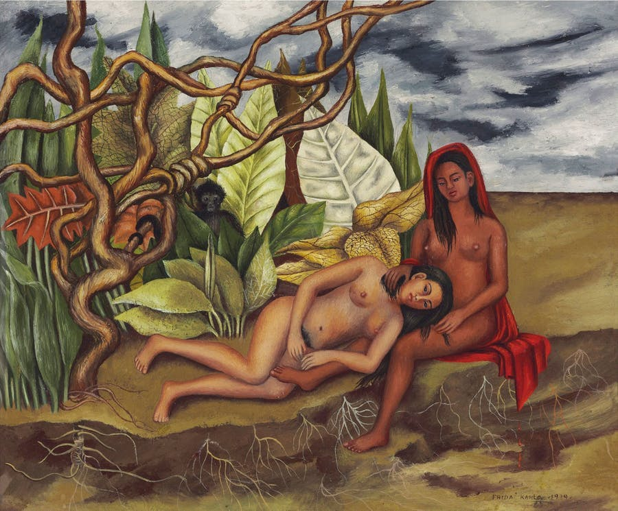Frida Kahlo, 'Dos Desnunos in El Bosque (The Tierra Misma)', 1939, picture © Christie's Images Ltd, 2016