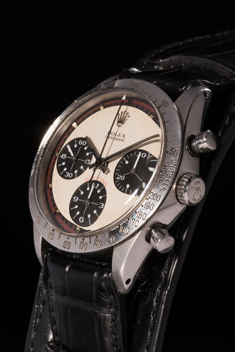 Paul Newmans Rolex Daytona, image via phillips.com