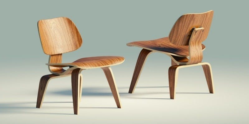 Eames Lounge Chair Wood | Foto: CG Trader