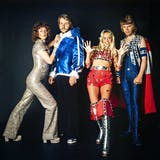 ABBA en 1974 Image via the Guardian