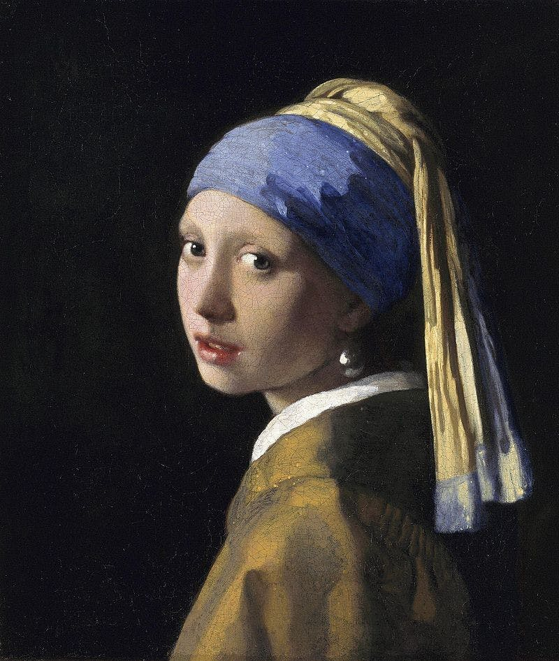Jan Vermeer (1632-1675), The Girl with the Pearl Earring, 1665 | Photo via Wikimedia