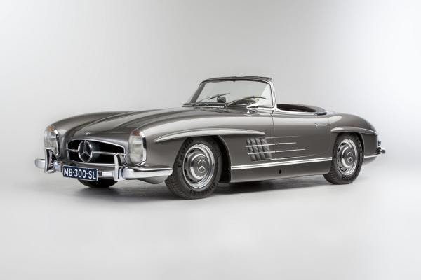 1961 Mercedes-Benz 300 SL Roadster with Hard-Top  Carte grise allemande