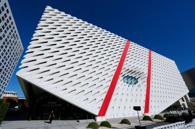 The Broad museum, Los Angeles.  Courtesy of The Broad and Diller Scofidio + Renfro