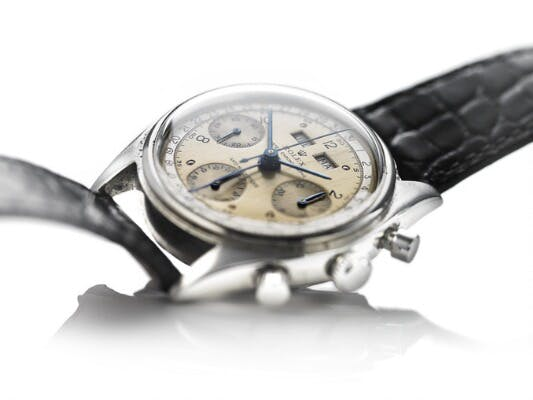 "ROLEX Dato-Compax Chronograph ""Killy"" Ref. 4767/0, Herrenuhr, 1950"