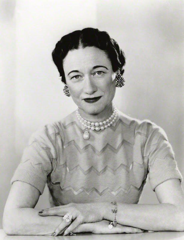 Wallis Simpson par Dorothy Wilding, 7 février 1955 © National Portrait Gallery, London