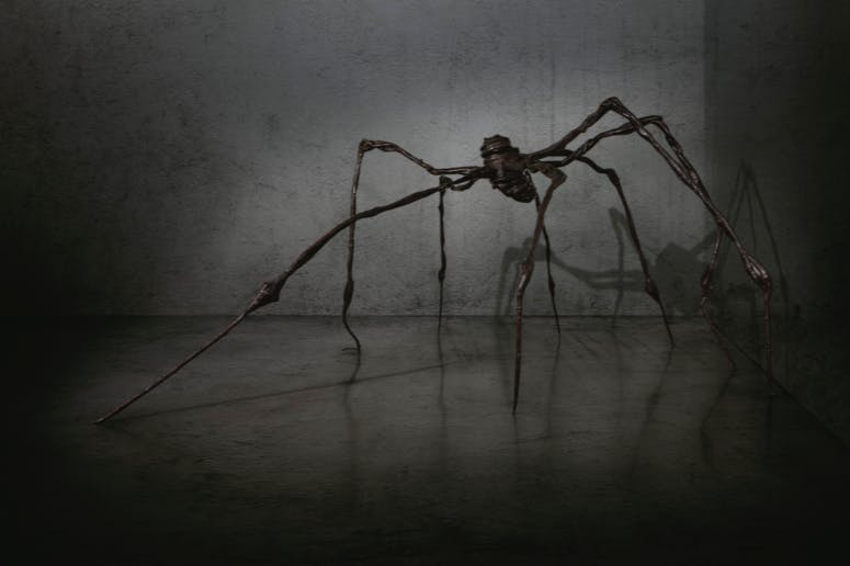 Louise Bourgeois, Spider, 1996, image © Christie's