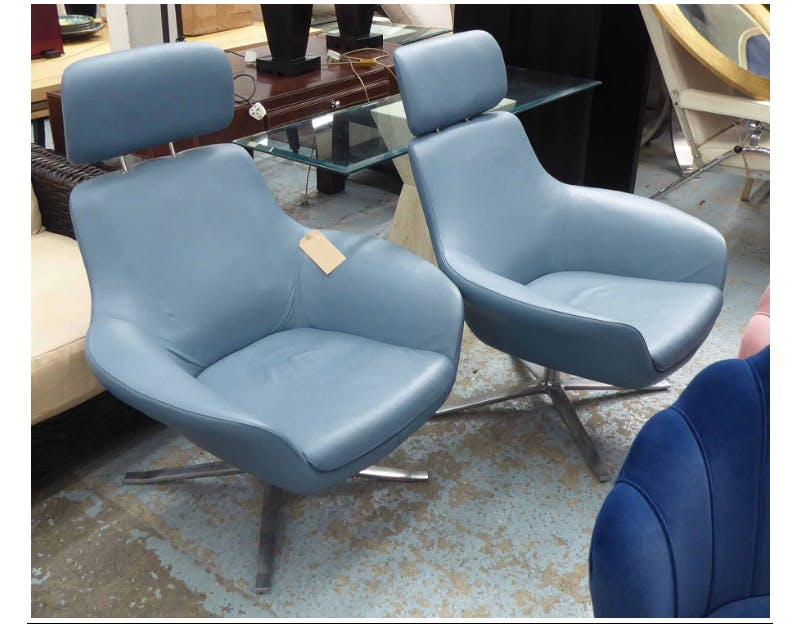 Coalesse Bob Lounge Chairs. Photo: Lots Road