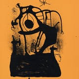 JOAN MIRÓ, Le Magnétiseur Orange, 1969