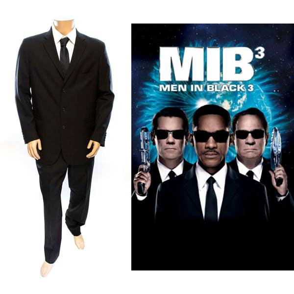 James Darrell Edwards III or Agent J's (Will Smith) suit from 'Men in Black 3'. Photo: Ewbank's