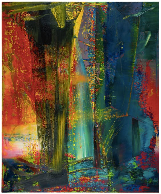 Gerhard Richter, Abstract Framework (809-1)