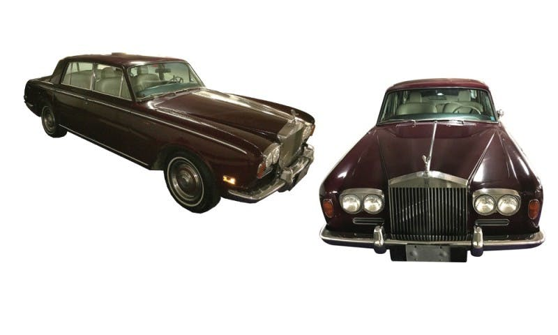 La Rolls-Royce Silver Shadow Sedan de Minnelli de 1971, image ©Profiles in History