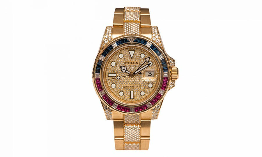 Gold Rolex GMT SARU for men, 2013. Image © HVMC