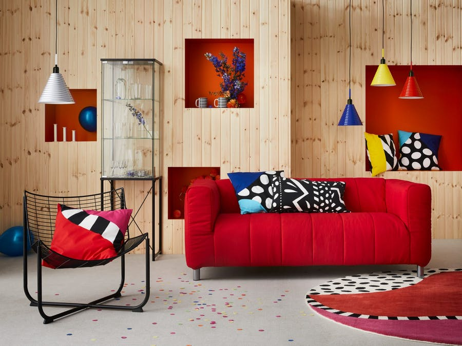 Collection Memphis Style inspiration années 1970-1980, image ©IKEA