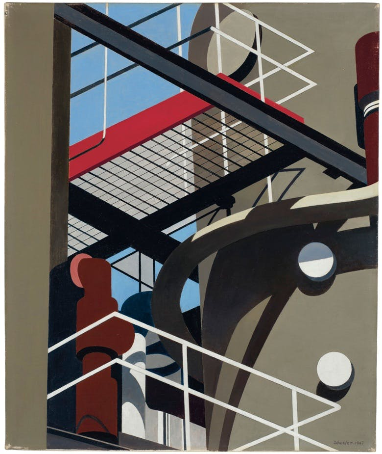 Charles Sheeler, Cat-walk (1947), image ©Christie's