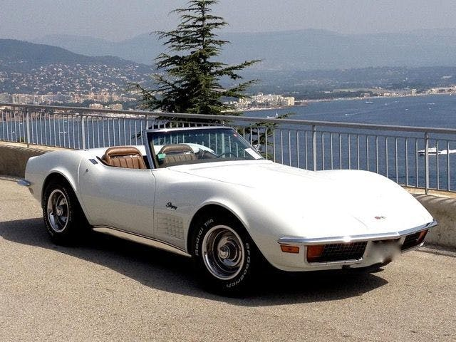 CORVETTE - Stingray Cabriolet - 1972 Estimation: 38.000-50.000 EUR