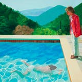 """David Hockney, """"Portrait of an Artist (Pool with Two Figures)"""", 1972. Foto: Christie's."""
