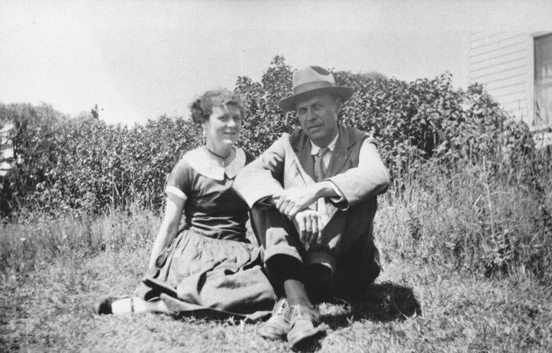 Jo and Edward Hopper. Foto: © Hopper's Vermont.