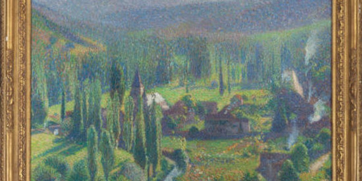 French Impressionist Painting Sells for $40K at Heritage Auctions