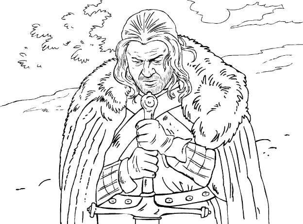 Game of Thrones coloring book set to be released | Barnebys ...