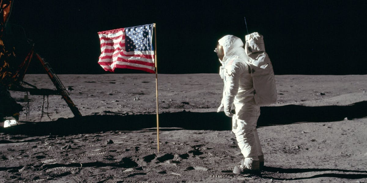 The Video of Neil Armstrong's Moon Walk Sells for £1.5 Million
