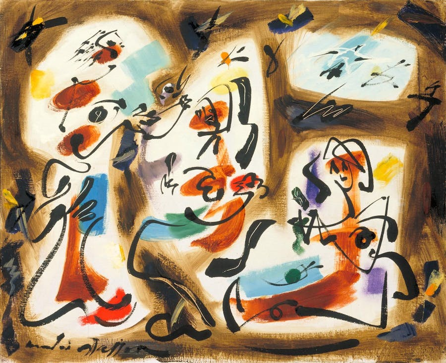 André Masson, Kitchen-maids, 1962, image ©Tate via The Estate of André Masson