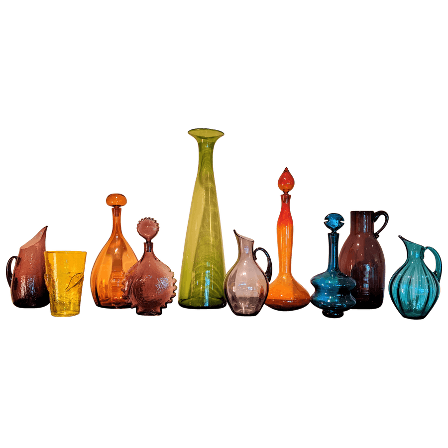 Blenko Glass Glassware Collection
