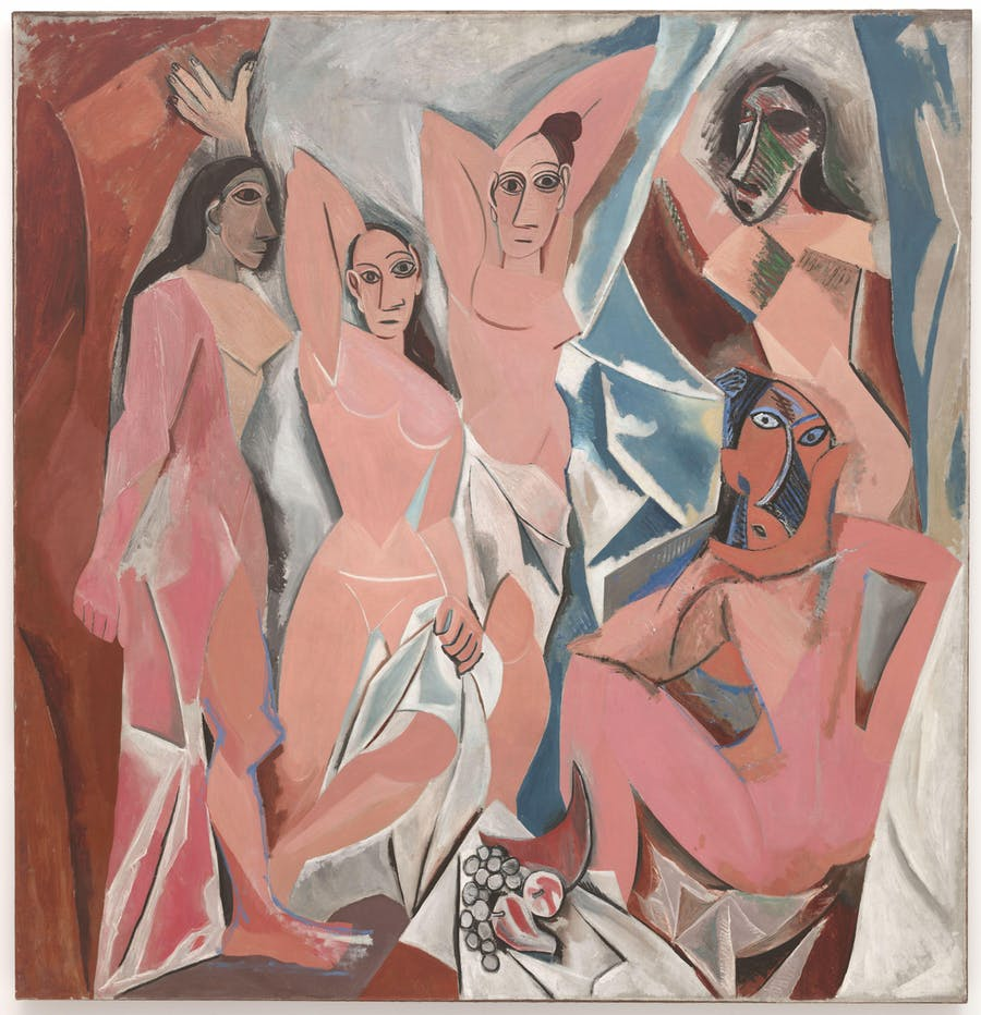 Pablo Picasso (1881-1973), Les Demoiselles d'Avignon, 1907 | Photo via MoMA