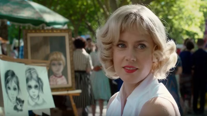 Big Eyes, screenshot dal trailer ufficiale.